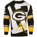 Aaron Rodgers #12 (Green Bay Packers) NFL Loud Player Sweater By Forever Collectibles