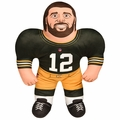 "Aaron Rodgers (Green Bay Packers) 24"" NFL Plush Studds by Forever Collectibles"