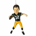 Aaron Rodgers (Green Bay Packers) Forever Collectibles NFL Player Ornament