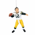 Aaron Rodgers (Green Bay Packers) NFL Player Ornament