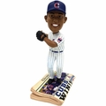 Addison Russell (Chicago Cubs) 2016 World Series Champions Newspaper Base Bobble Head by Forever Collectibles