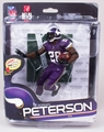Adrian Peterson (Minnesota Vikings) NFL 34 McFarlane Collector Level Gold CHASE #/500