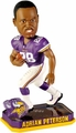 Adrian Peterson (Minnesota Vikings) Forever Collectibles 2014 NFL Springy Logo Base Bobblehead