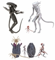 "Alien: Covenant 7"" Scale Action Figure Complete Set (3) by NECA"