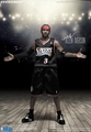 "Allen Iverson (Philadelphia 76ers) 1/6th Scale 12"" NBA Action Figure Enterbay"