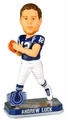Andrew Luck (Indianapolis Colts) Forever Collectibles 2014 NFL Springy Logo Base Bobblehead