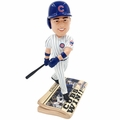 Anthony Rizzo (Chicago Cubs) 2016 World Series Champions Newspaper Base Bobble Head by Forever Collectibles