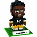 Antonio Brown (Pittsburg Steelers) NFL 3D Player BRXLZ Puzzle By Forever Collectibles