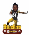 Antonio Brown (Pittsburgh Steelers) 2018 NFL Baller Series Bobblehead by Forever Collectibles