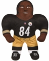 """Antonio Brown (Pittsburgh Steelers) 24"""" NFL Plush Studds by Forever Collectibles"""