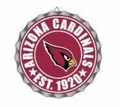 Arizona Cardinals NFL Wall Decor Bottlecap Collection by Forever Collectibles