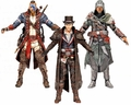 Assassin's Creed Series 5 Set of 3 (Union Jacob Frye, Il Tricolore Ezio Auditore, Revolutionary Connor) McFarlane