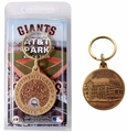 AT&T Park (San Francisco Giants) Infield Dirt Coin Keychain