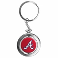 Atlanta Braves MLB Spinner Keychain
