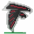 Atlanta Falcons NFL 3D Logo BRXLZ Puzzle By Forever Collectibles