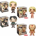 Attack on Titan Complete Set (4) Funko Pop!