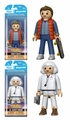 Back to the Future Complete Set (2) Funko Playmobil