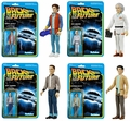 Back to the Future (Set of 4) ReAction 3 3/4-Inch Retro Action Figure