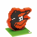 Baltimore Orioles MLB 3D Logo BRXLZ Puzzle By Forever Collectibles