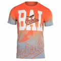 Baltimore Orioles MLB Gray Gradient Tee by Forever Collectibles