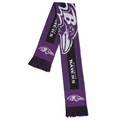 Baltimore Ravens NFL Big Logo Scarf By Forever Collectibles