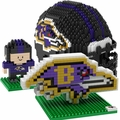 Baltimore Ravens NFL 3D BRXLZ Puzzle Set By Forever Collectibles
