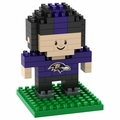 Baltimore Ravens NFL 3D Player BRXLZ Puzzle By Forever Collectibles