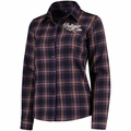 Baltimore Ravens NFL 2016 Women's Wordmark Long Sleeve Flannel Shirt