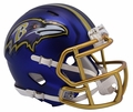 Baltimore Ravens Riddell Blaze Alternate Speed Mini Helmet