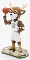 Bango (Milwaukee Bucks) Mascot 2017 NBA Headline Bobble Head by Forever Collectibles