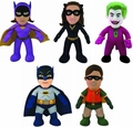 "BATMAN 1966 TV Series 10"" DC Comics Bleacher Creatures Plush Figures"