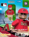 Baxter Mascot (Arizona Diamondbacks) MLB OYO Sportstoys Minifigures G4LE