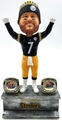 Ben Roethlisberger (Pittsburgh Steelers) 2X Championship Ring Base Exclusive Bobblehead #/750
