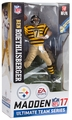 Ben Roethlisberger (Pittsburgh Steelers - Bumble Bee Uniform) EA Sports Madden NFL 17 Ultimate Team Series 2 McFarlane CHASE