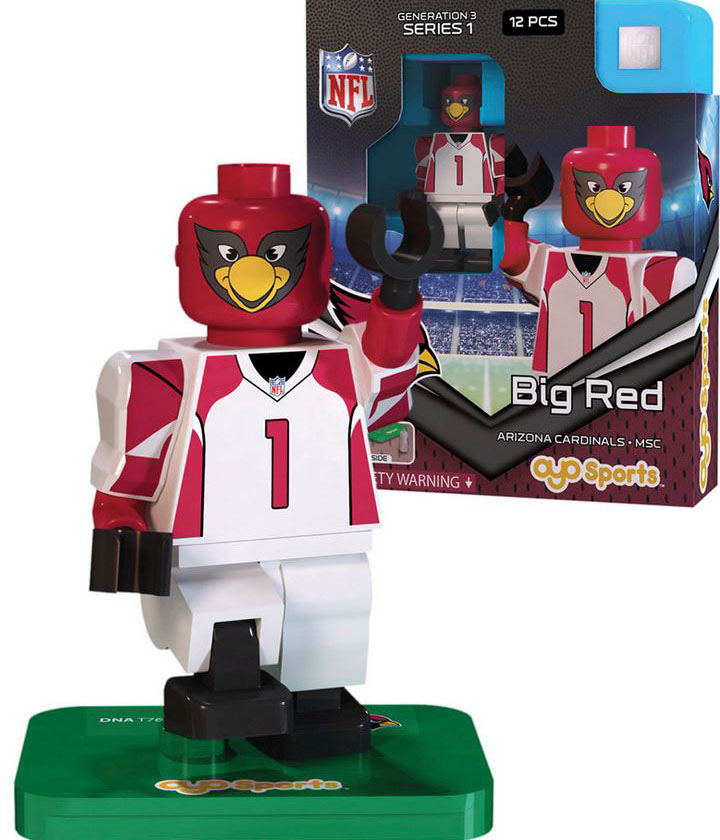 Big Red Mascot Arizona Cardinals NFL OYO Sportstoys Minifigures G3LE  eBay