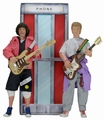 "Bill and Ted's Excellent Adventure - 8"" Clothed Figure - Bill and Ted 2 Pack by NECA"
