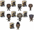 Black Panther Complete Set w/CHASES (7) Funko Pop!