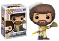Bob Ross and Paint Brush (The Joy of Painting) Funko Pop!