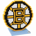 Boston Bruins NHL 3D Logo BRXLZ Puzzle By Forever Collectibles