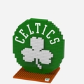 Boston Celtics NBA 3D Logo BRXLZ Puzzle By Forever Collectibles