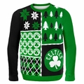 Boston Celtics NBA Ugly Sweater BusyBlock