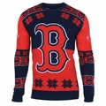 Boston Red Sox Big Logo MLB Ugly Sweater