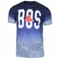 Boston Red Sox MLB Gray Gradient Tee by Forever Collectibles