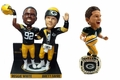 Brett Favre/Reggie White (Green Bay Packers) 1996 Super Bowl Champions NFL Bobblehead Set (3) Exclusive #750