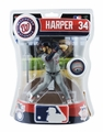 "Bryce Harper (Washington Nationals) 2017 MLB 6"" Figure Imports Dragon THE PLAYERS CLUBHOUSE�"