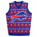 Buffalo Bills Aztec NFL Ugly Sweater Vest
