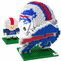 Buffalo Bills NFL 3D BRXLZ Puzzle Set By Forever Collectibles