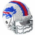 Buffalo Bills NFL 3D Helmet BRXLZ Puzzle By Forever Collectibles