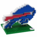 Buffalo Bills NFL 3D Logo BRXLZ Puzzle By Forever Collectibles