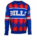 Buffalo Bills NFL Argyle Sweater CLARKtoys Exclusive